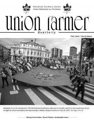 Union Farmer Quarterly: Automne 2017