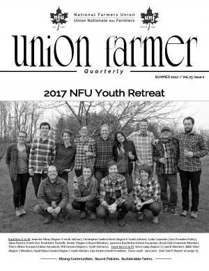 Union Farmer Quarterly: couverture 2017 d'été