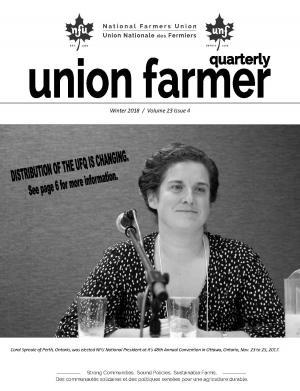 Union Farmer Quarterly: Winter 2017-18