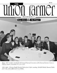 Union Farmer Quarterly: Winter 2013-2014
