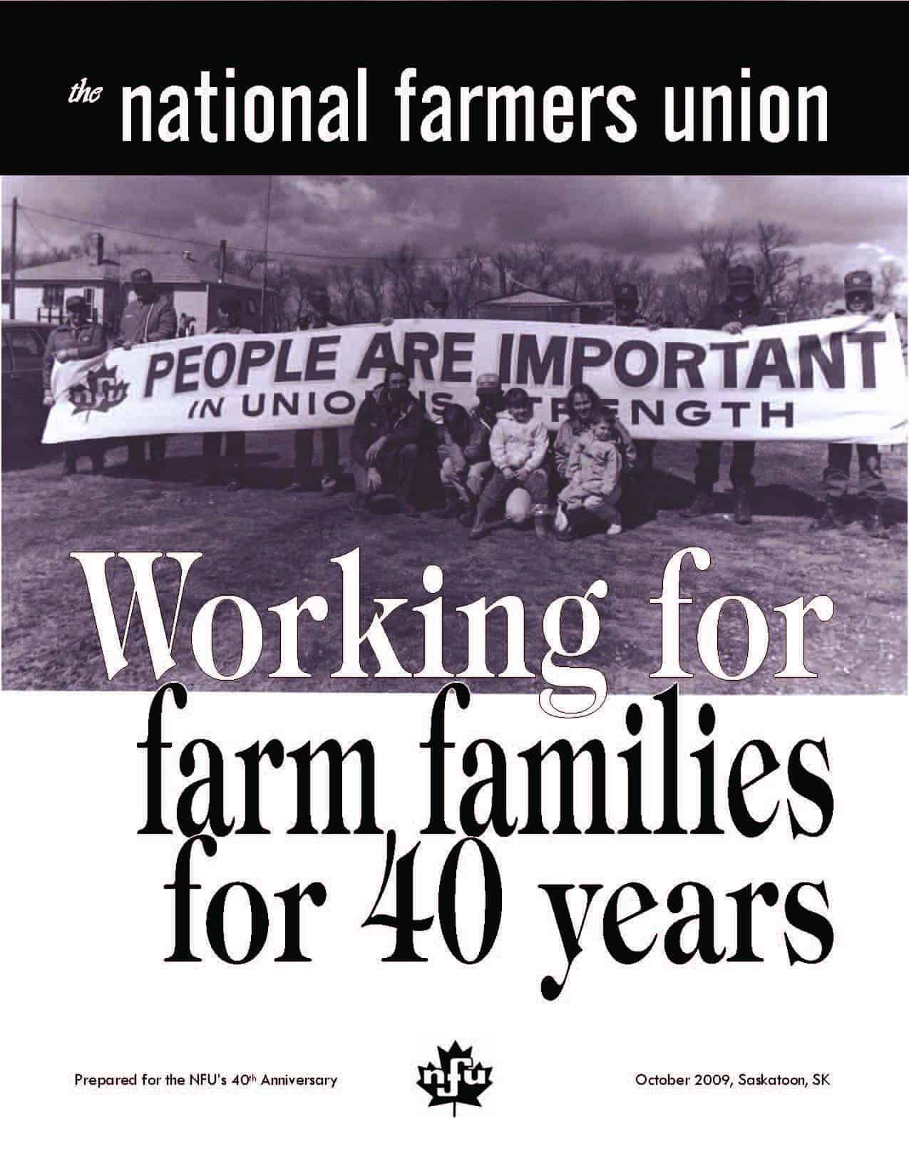 Working for Farm Families for 40 years