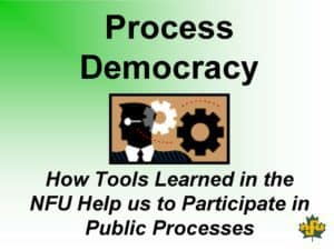 NFU Tools for Public Participation - cover
