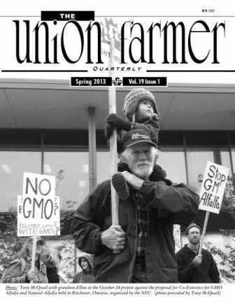 Union Farmer Quarterly: Spring 2013