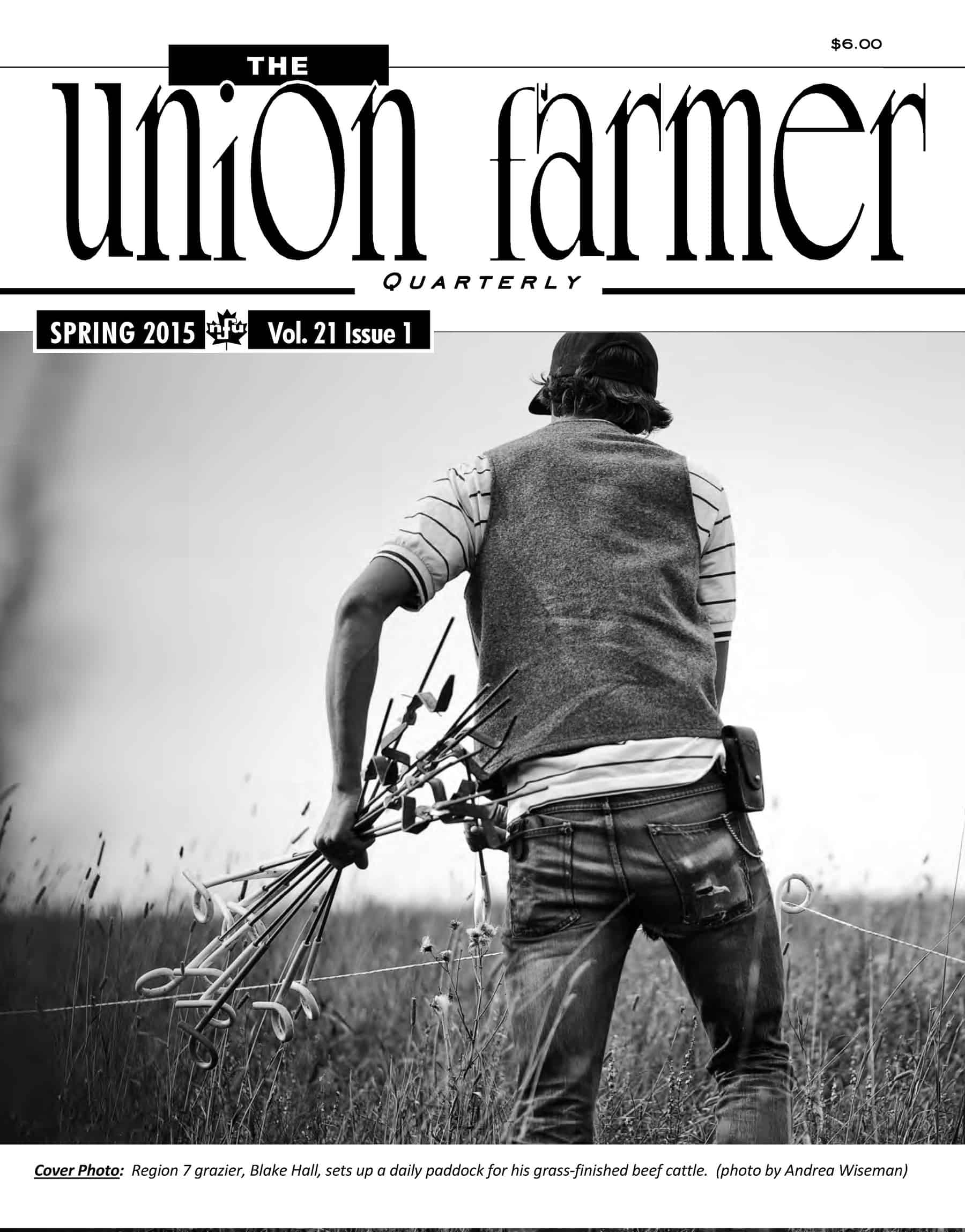 Union Farmer Quarterly: Spring 2015