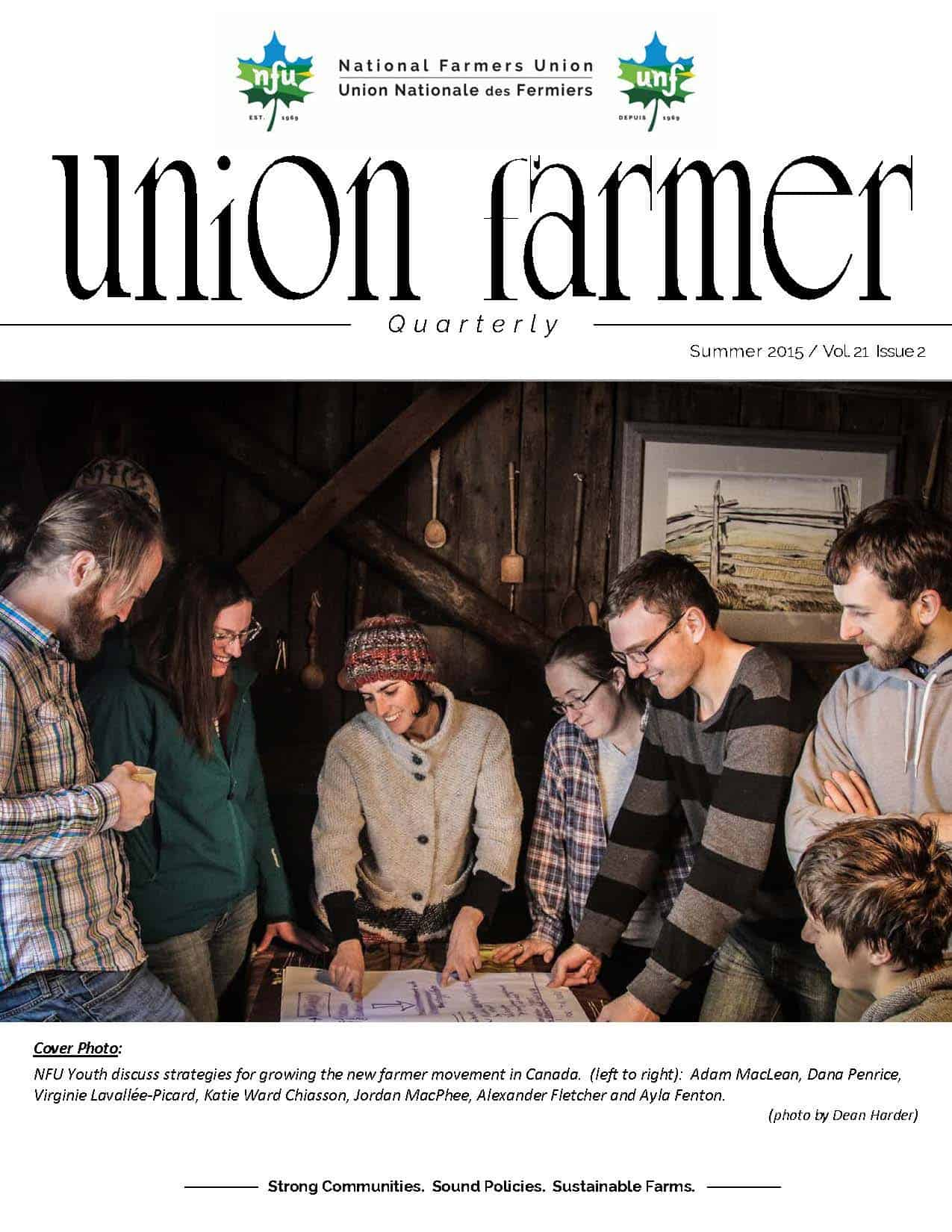 Union Farmer Quarterly: Summer 2015