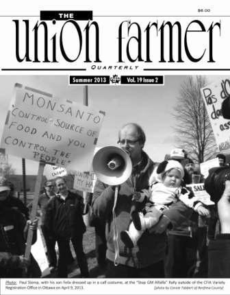 Union Farmer Quarterly: Summer 2013