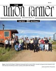 Union Farmer Quarterly: Fall 2012