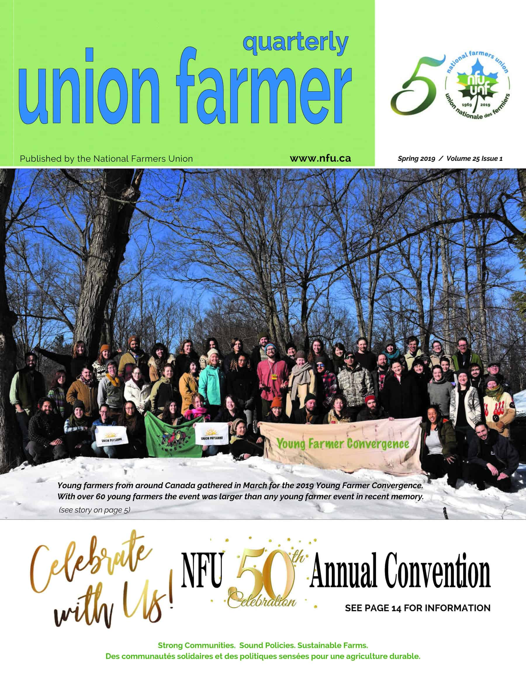 Union Farmer Quarterly: Spring 2019