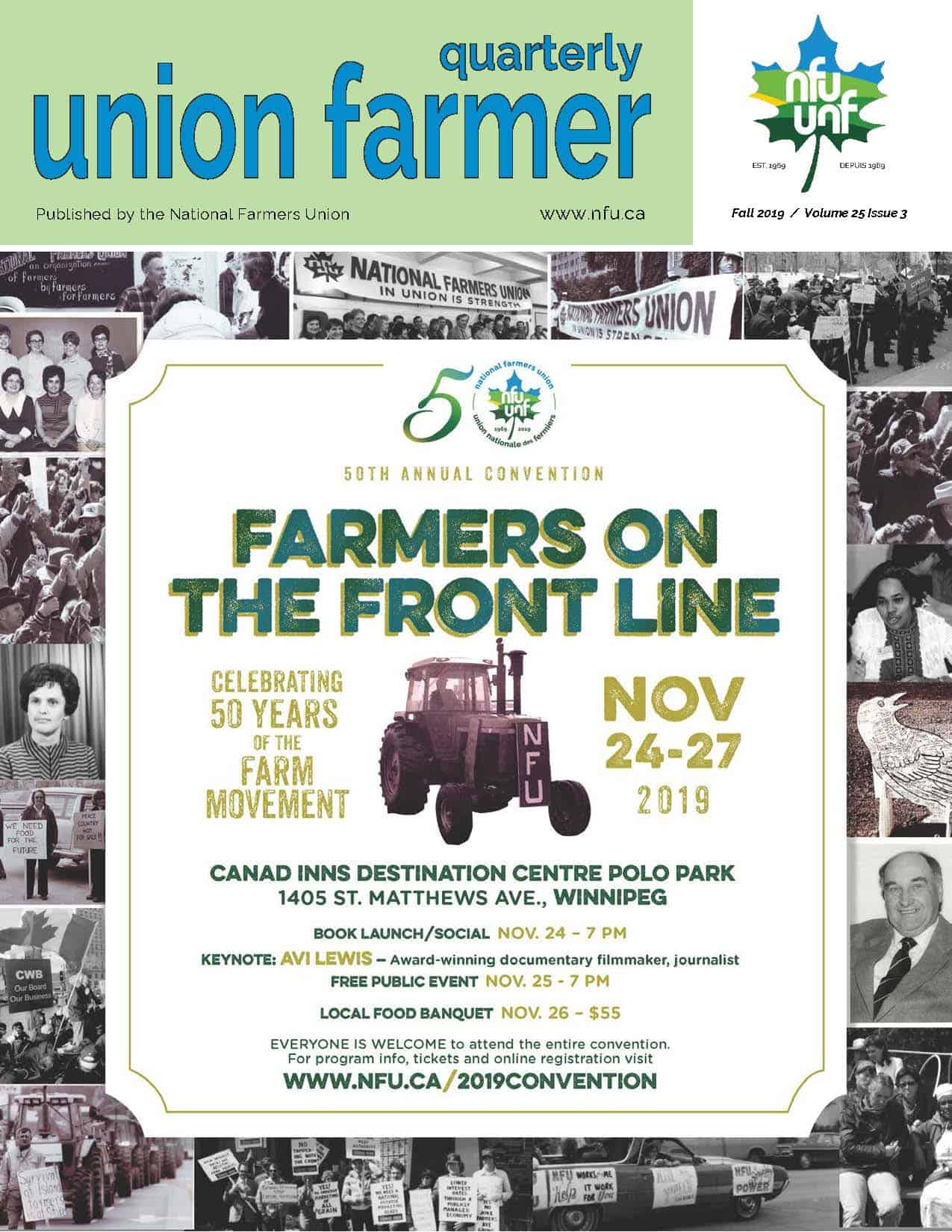 Union Farmer Quarterly: Fall 2019