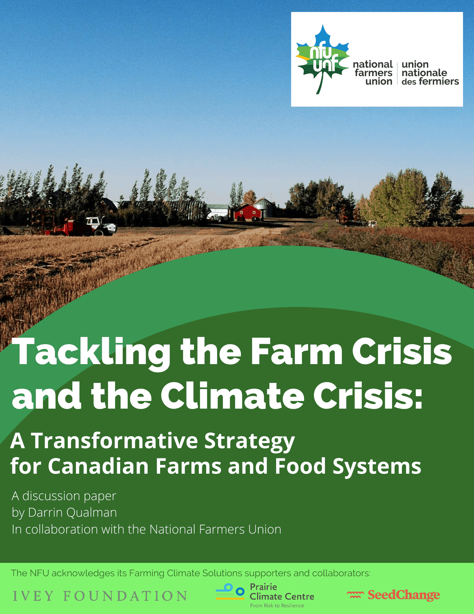 Tackling the Farm Crisis and the Climate Crisis
