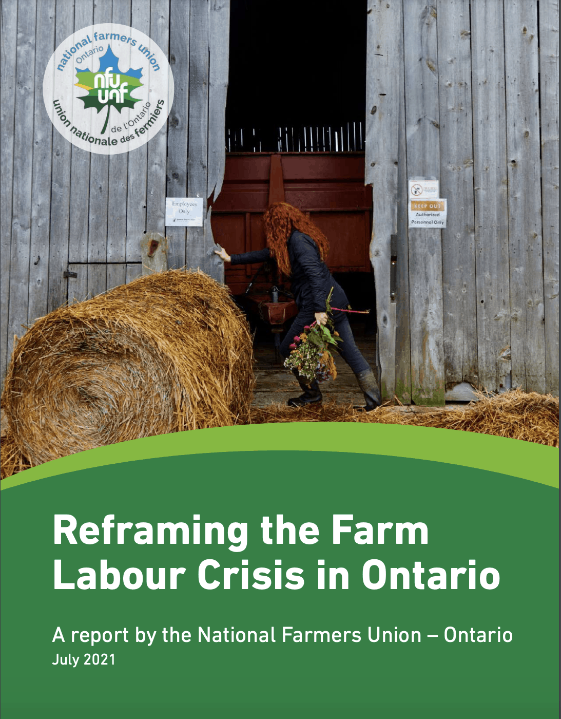"""NFU-O releases new report: """"Reframing the Farm Labour Crisis in Ontario"""""""